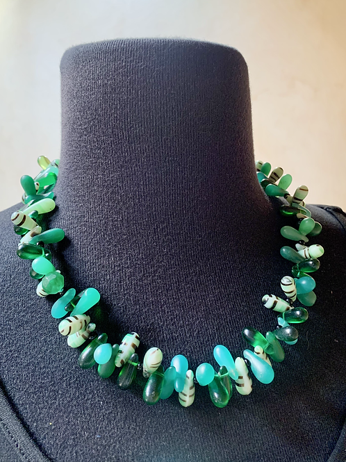 Green Mali Wedding Beads