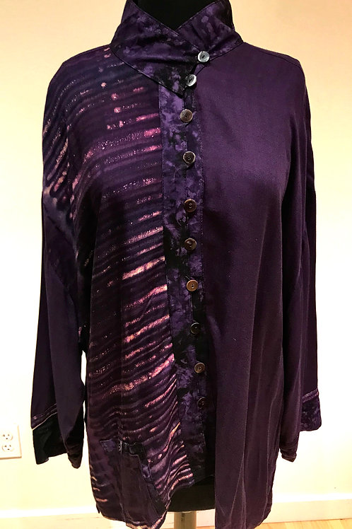 Purple Lyng Blouse
