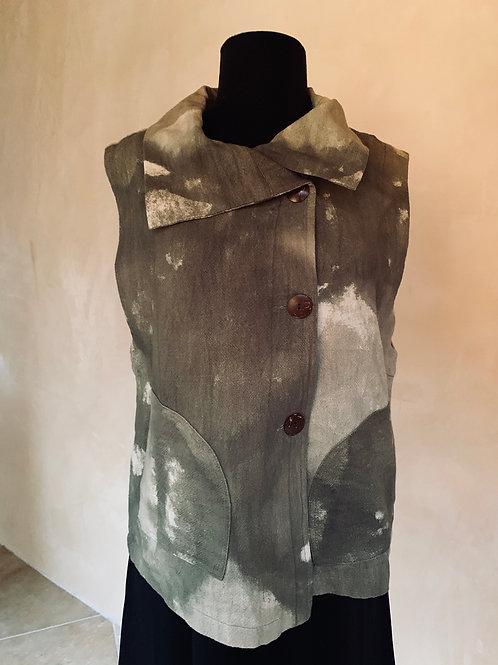 Green Cotton Vest