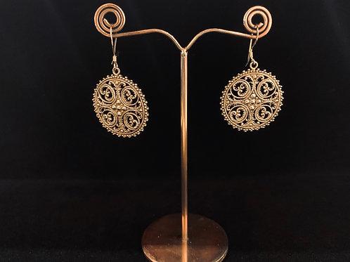 French Design Filagree Earrings