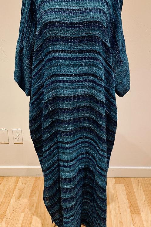 Blue Striped Brunella Dress
