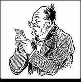 Wordeby's Man reading News