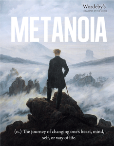 Wordeby's Collection of Fine Words: METANOIA