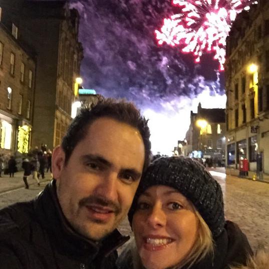 New year in edinburgh