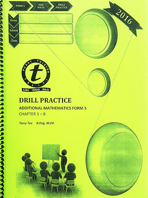 FORM 5 Add Maths Drill Practice