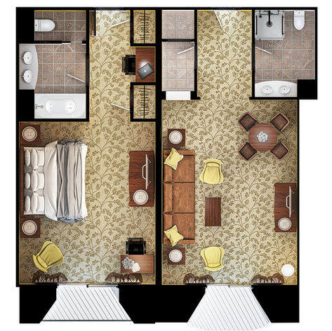 3D Floor Professional Rendering