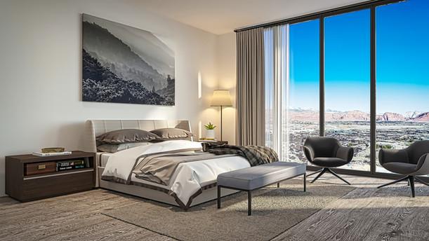 Bedroom 3D Rendering  | Rendimension