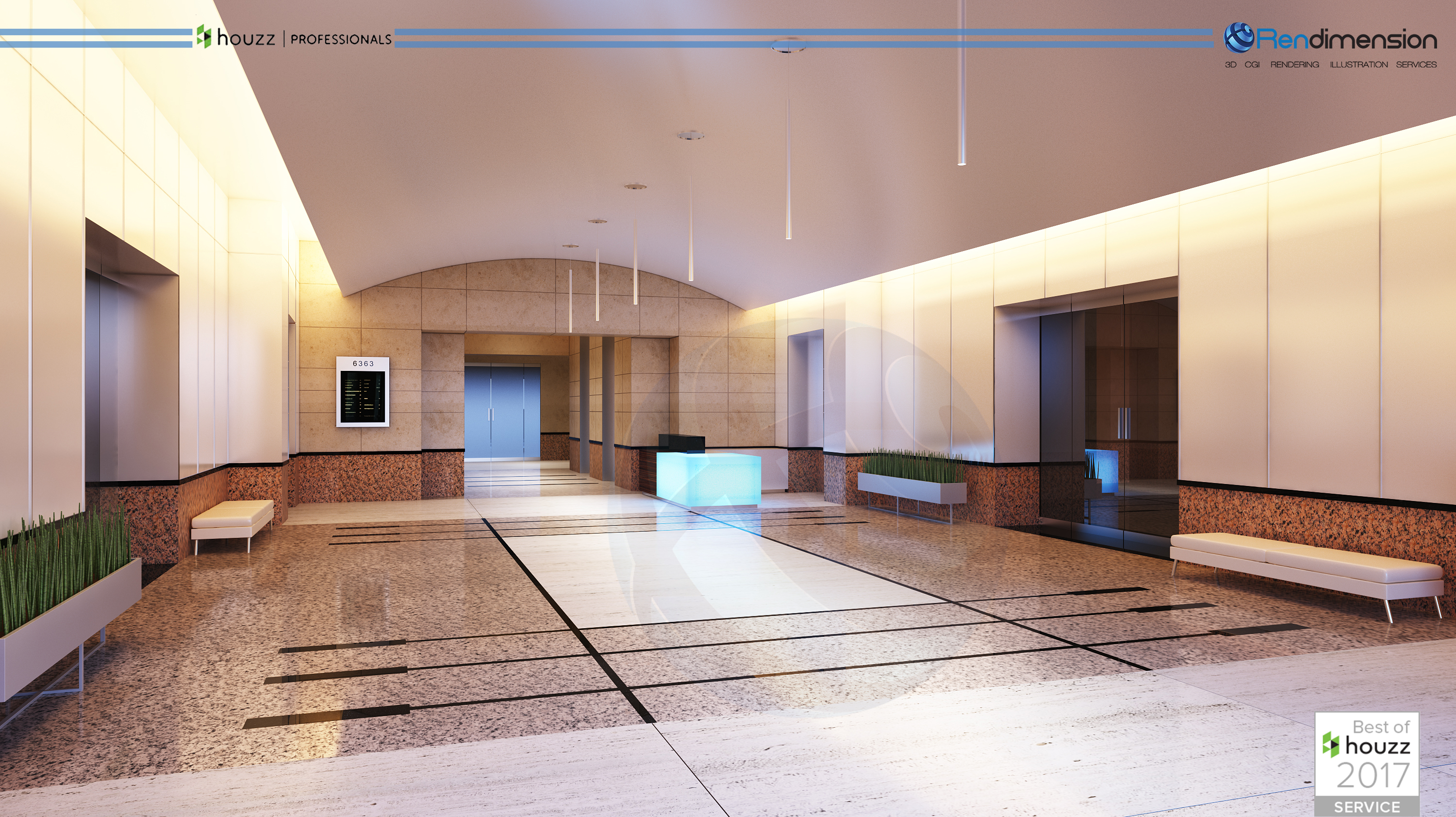 3D Hospitality 3d rendering offices 3d rendimension COMPANY RENDERING COMPANY 1 ARCHITECTURAL CALIFO
