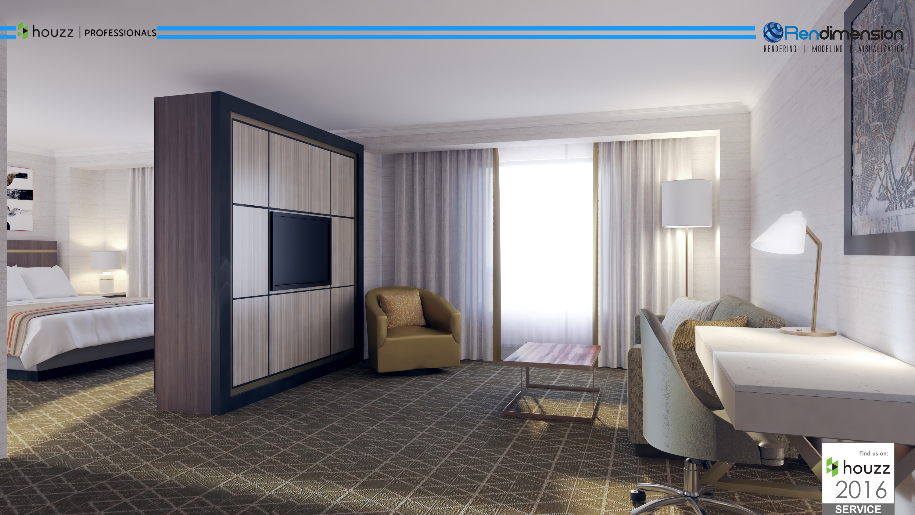 CG INTERIOR LONDON HOTEL CGI SERVICE FIRM