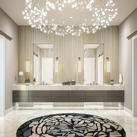 ARCHITECTURAL RENDERING 3D BATHROOM LOS