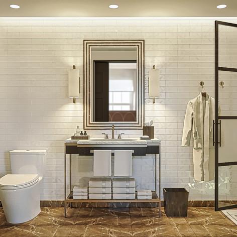 Bathroom Professional Rendering