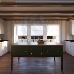 Interior Rendering CGI Visualization