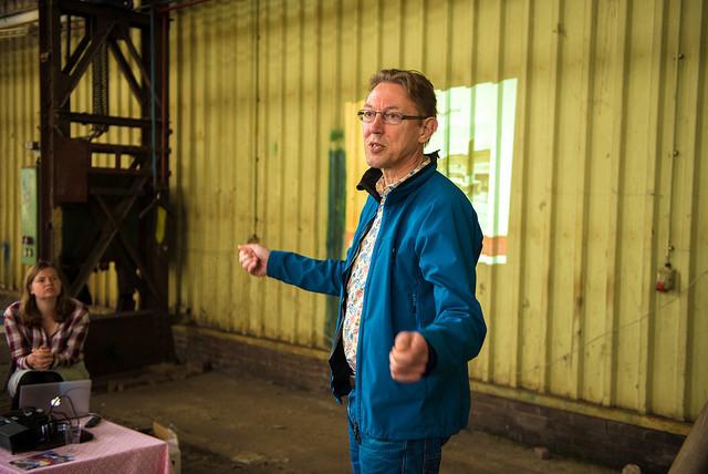Bert Poortman, Usine. Fotograaf Aad van Vliet CC by NC