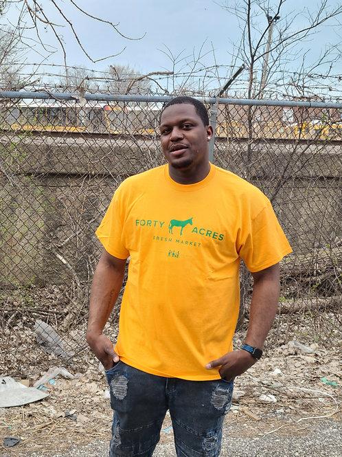 Forty Acres Fresh Market T-shirt (Orange)