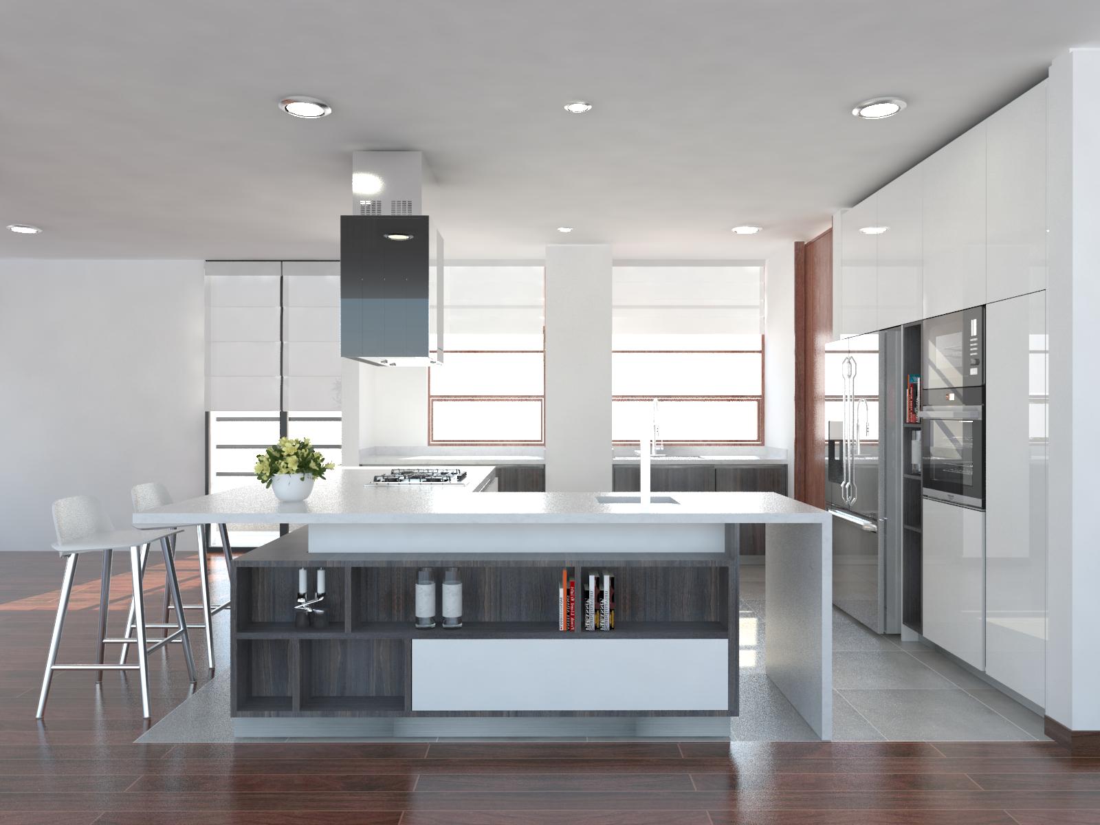 Cocinas modernas |Bogotá |Cali |Ibagué | Fanáticos por las cocinas