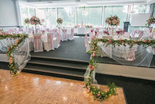 handrail flowers