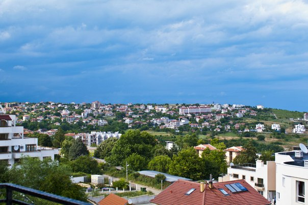 Вид города Бяла