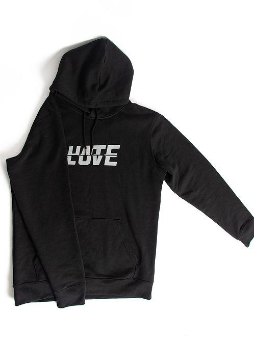 LOV/ATE Hoodie Black/Grey