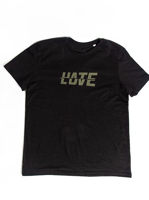 LOV/ATE Tee Black/Khaki