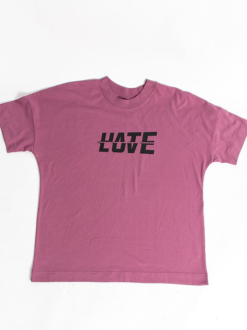 LOV/ATE Tee Pink
