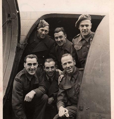 England Team in Plane - {Mercer Family}.