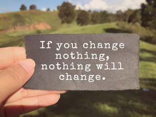 No Goin' Back: Get Used to Change