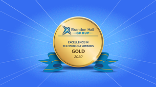 LearnUpon (Savvy's LMS Platform) Takes Gold at 2020 Brandon Hall Excellence in Technology Awards