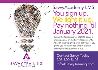 SavvyAcademy LMS Free For More Than Three Months!