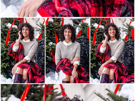 Catherine's Troy Christmas / Portrait Session