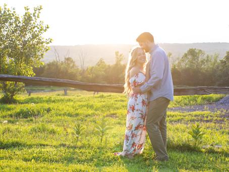 Adam & Sarah's Golden Hour Engagement Shoot