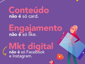 O que é conteúdo, engajamento e marketing digital?