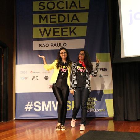 Fonte Criativa é destaque no Social Media Week São Paulo 2018