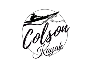 Simple Colson Kayak Logo clear backgroun