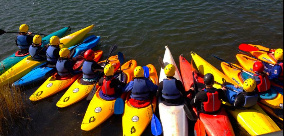 Kayaking in Wales!!!