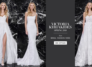 French Boudoir-Inspired Gowns from Victoria Kyriakides Spring 2018 @ Inside Weddings