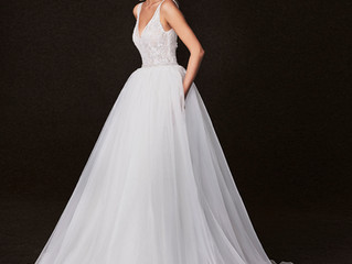 Victoria Kyriakides Fall 2017 Wedding Dress Collection - Martha Stewart