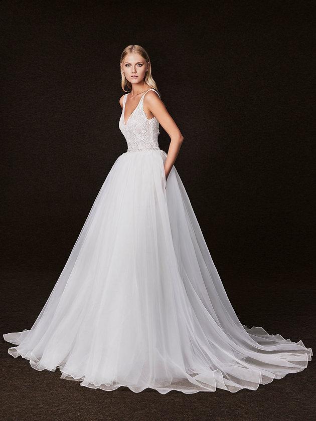 dd35e4d65e Victoria Kyriakides Fall 2017 Wedding Dress Collection - Martha Stewart