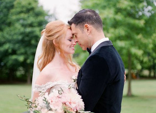 Real Wedding: ALLISON AND MIKE'S BLUSH CHATEAU WEDDING