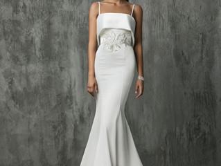 25 Simple Wedding Dresses From Fall 2018 Bridal Week -ELLE