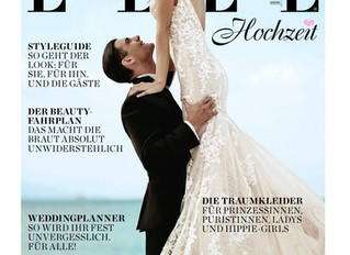 Victoria Kyriakides Featured at cover of ELLE Germany!!!