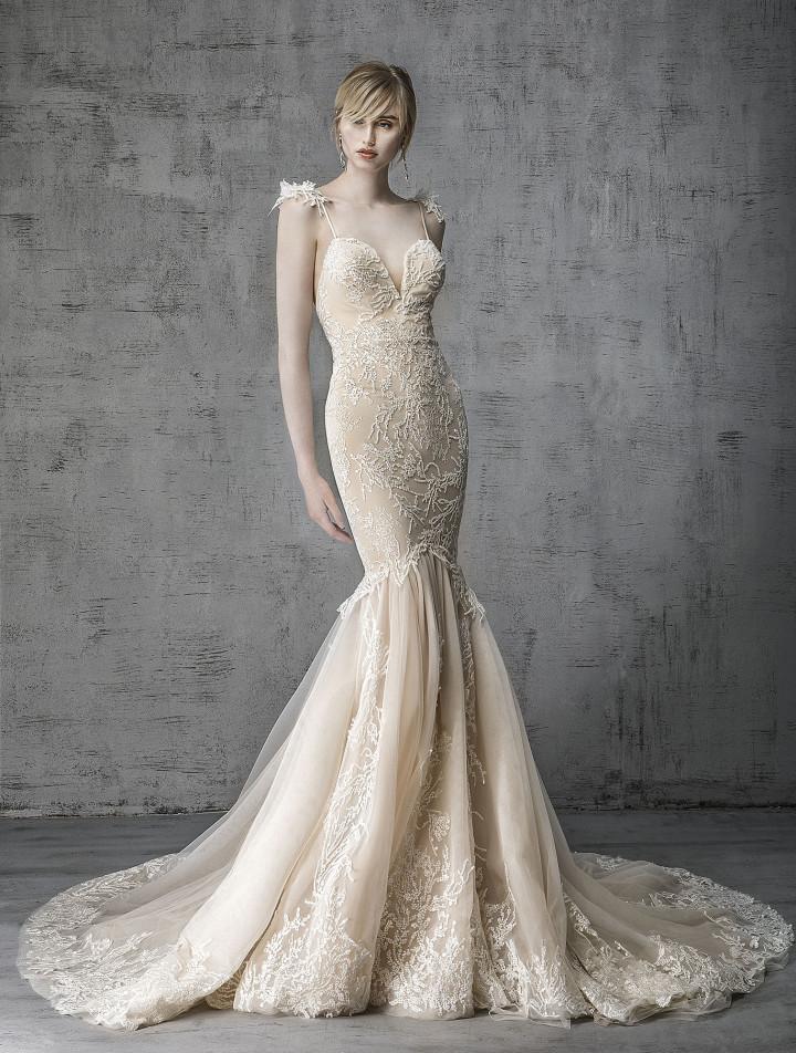 935d1dfa77e 11 Whimsical Wedding Dresses That Exude Mythical Vibes