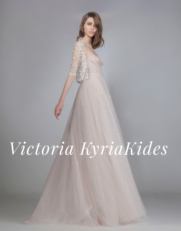 4b33080b25 Victoria KyriaKides Fall Winter 2016 Bridal Collection