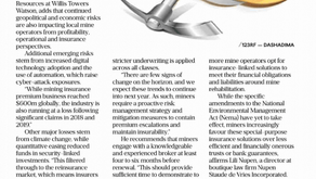 Business Day Coverage On The Mining Sector