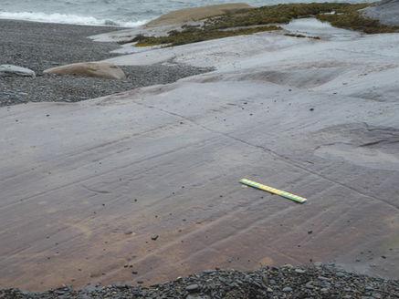 glacial field studies striations geography fieldwork scotland