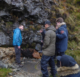 A Level geology field course Scotland