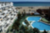 Hotel accommodation in Almeria for A Level geography field courses