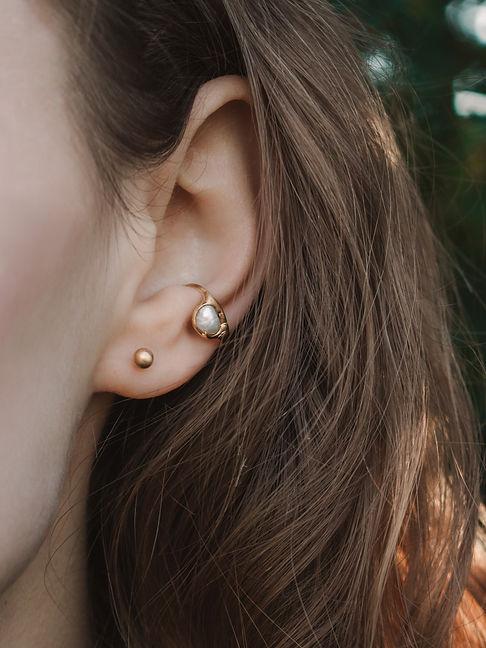 perle,silber,gold,vermeil,schmuck,earcuf
