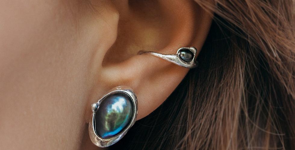 Grün-blaue Perle