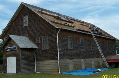 Putting on a new roof