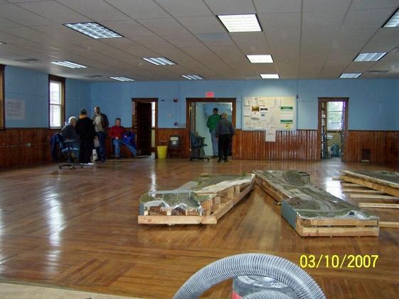 Refurbished room post fire